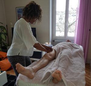 massage sport relax jambes